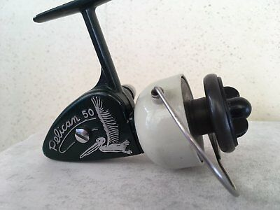 Old Vintage spinning reel mulinello antico marca Zangi/Coptes mod. PELICAN 50