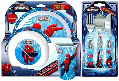 Spearmark 6 Piece Spider-Man Dinner and Cutlery Set