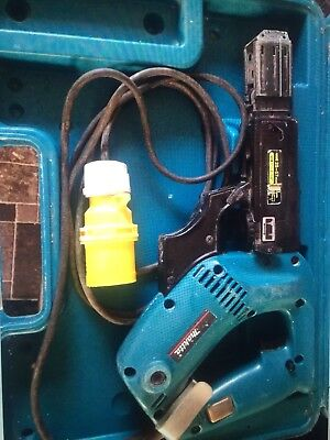 makita autofeed screwdriver 6834 110 volt. in good used condition