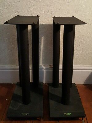 Mission Speaker Stands With Floor Spikes And Speaker Spikes