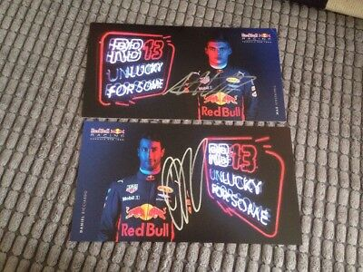 red bull racing Hand Signed