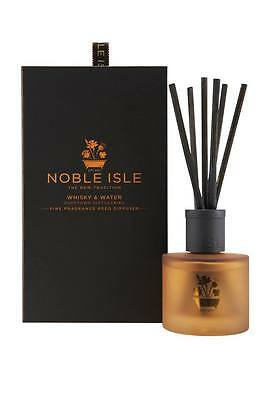 Noble Isle Whisky & Water Reed Diffuser & A FREE 30ml Molton Brown - BRAND NEW