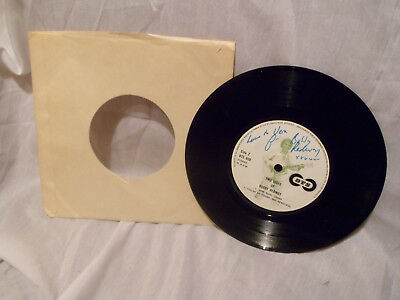 """Bobby Redway - Two Sides Of..-Signed Copy DTS 030 7"""" single"""