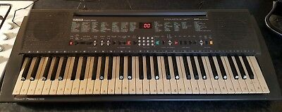 Yamaha Psr 300 Keyboard With Unofficial Power Supply