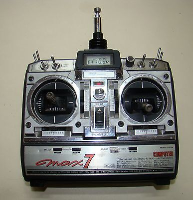 JR Propo Max 7 Seven channel 35mhz Transmitter for Radio Control Models.