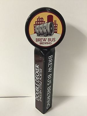 Brew Bus Brewing Tap Handle English Style Porter  NEW & F/S ~ Tampa Florida