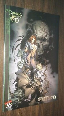 WITCHBLADE #10 / DARKNESS #0 -- 1st Appearance -- VARIANT Cover -- VF+ Or Better
