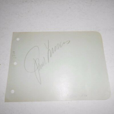 Paul Lukas was a Hungarian actor He won the Academy Award  Hand Signed Page