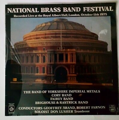 National Brass Band Festival -Albert Hall-1975 -SEALED QUAD LP (Cat.No.TB 3004)