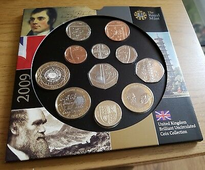 Brilliant Uncirculated 2009 Coin Collection