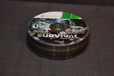 Lot of 21x Microsoft Xbox 360 Video Games Disc Only