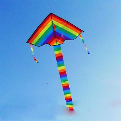 Rainbow Kite Without Flying Tools