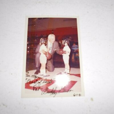 Buddy Baer was an American boxer & actor Hand Signed Photo