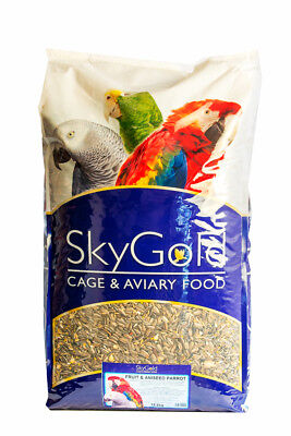 SkyGold Fruit & Aniseed Mix Parrot Bird Food Seed Feed 12.5kg Bag
