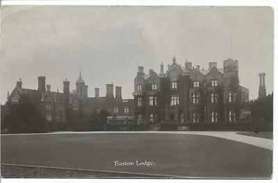 Vintage R/p Postcard.easton Lodge,little Easton,nr Great Dunmow,essex.1915