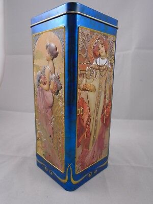 Churchill's collectible four seasons biscuit / confectionary tin