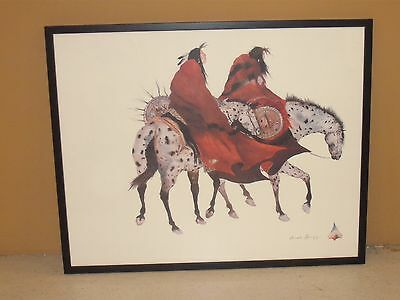 """The Loss"" Print by Cherokee Artist Carol Grigg"
