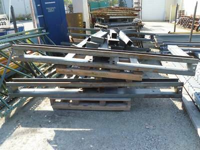 """Cantilever Rack 2 Double Sided 8' H Upright x 105-1/2"""" Base with 16 Arms"""