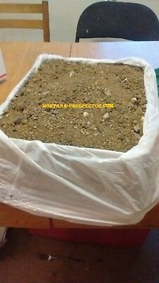Montana Gold Nugget Pay Dirt Approximately 20lbs OF RICH PAYDIRT#325