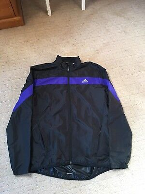 Adidas Black Running Jacket