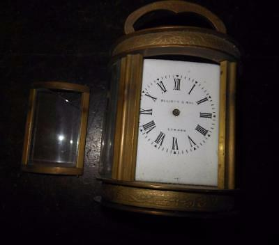 small oval carriage clock for spares
