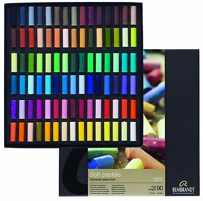 Rembrandt Soft Pastels 90 Half Stick General Set