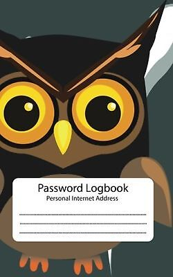 Password Log : Personal Internet Address Book: Owl:Password Journal: Password...