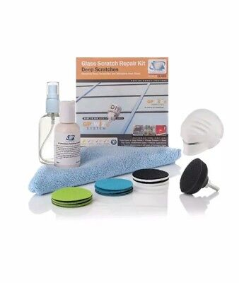 Glass Scratch Repair DIY Kit, GP-WIZ System - Removes Scratches, Scuffs, Sand -