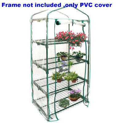 3/4/5 Tiers Green House Mini Portable Warm Greenhouse Flower Plants Gardening