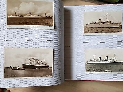 Postcard Album & 100 Old Postcards. Topo, Shipping, Real Photo, People, Comic