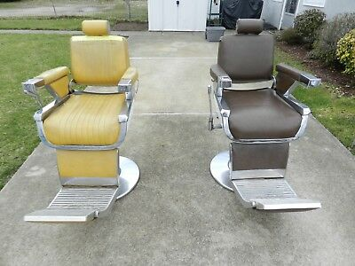 BELMONT - 2 TWO - Vintage Barber Chairs - Two For The Price Of One! - Hydraulic