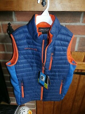 Boys Quilted Vest by Free Country Size Large (14/16)   NEW WITH TAGS