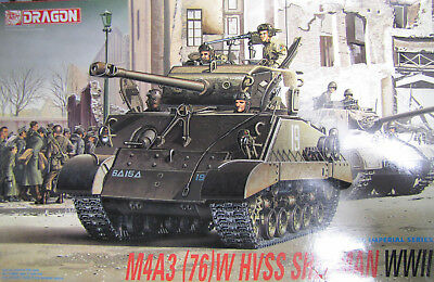 1:35 Dragon 9010 Sherman M4A3 (76)W HVSS