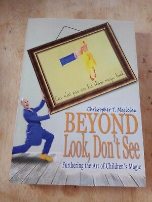 Christopher T Magician - Beyond Look, Don't See - kids childrens magic