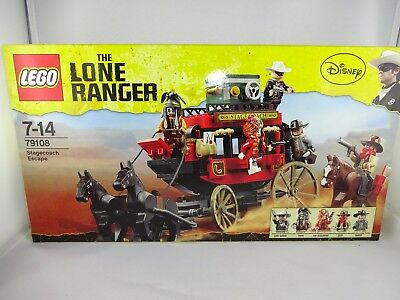Lego ® 79108 The Lone Ranger- Stagecoach Escape  (OVP)