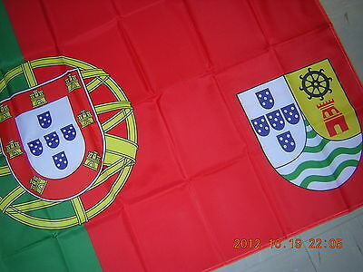 NEW Pre-1961 Portuguese India Goa Colonial Government Ensign Flag 3 ft X 5 ft