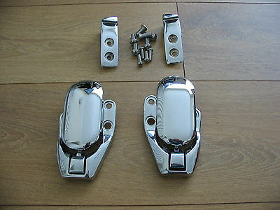 Chrome MG MGF TF Soft Hard Top Catches & Receivers Plus Bolts