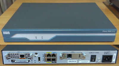 Router Cisco 1841 rev.7 + HWIC-1ADSL + CAVO RJ11 + 1 ISDN Basic Rate interface