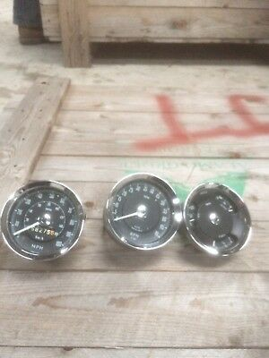 Old Smiths Car Clocks Set