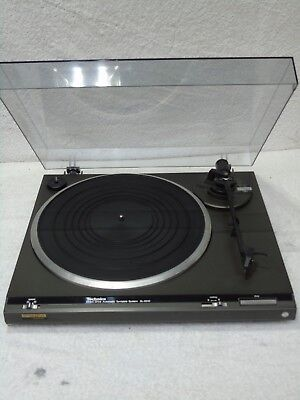 Technics SL-D210 Direct Drive Vintage Turntable Record Player Deck