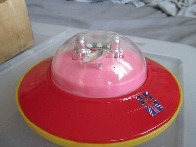 Vintage Battery Operated Flying Saucer
