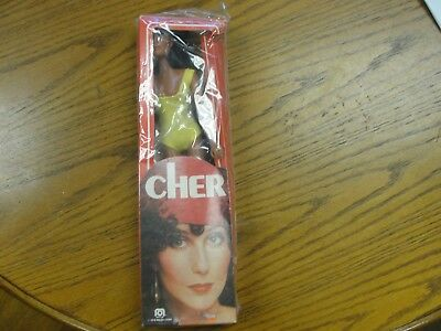 """Vintage 1976 Cher Doll Mint In Box Mego Corp Approx 13"""""""