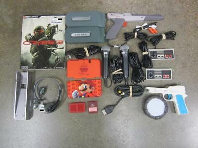 Lot of 17 Mixed Format Accessories (Wii, Xbox 360, NES & More) *Used*