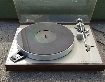 LUXMAN PD-284 VINTAGE TURNTABLE Powers On Untested