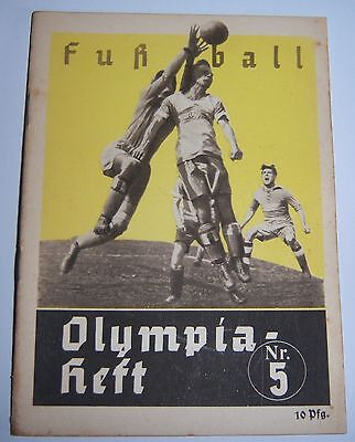 OLYMPICS 1936 Booklet No.5 -  Football.
