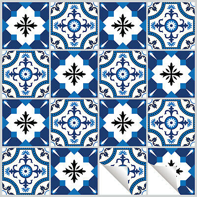 Tile Stickers Transfers Traditional Vintage Retro Kitchen DIY Custom sizes -T13