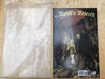 The Devils Rejects Comic Book Rob Zombie IDW Movie Merch House of 1000 corpses