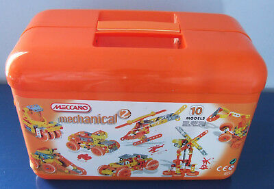 Meccano Junior Mechanical 2 Construction Set Box