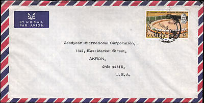 to Goodyear, Akron OH, 1975