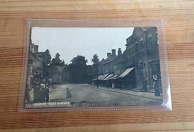 High Street. Kinver. Postally Used Early Card ( Shop Fronts )